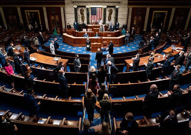 session du Congrès le 6 janvier 2021
