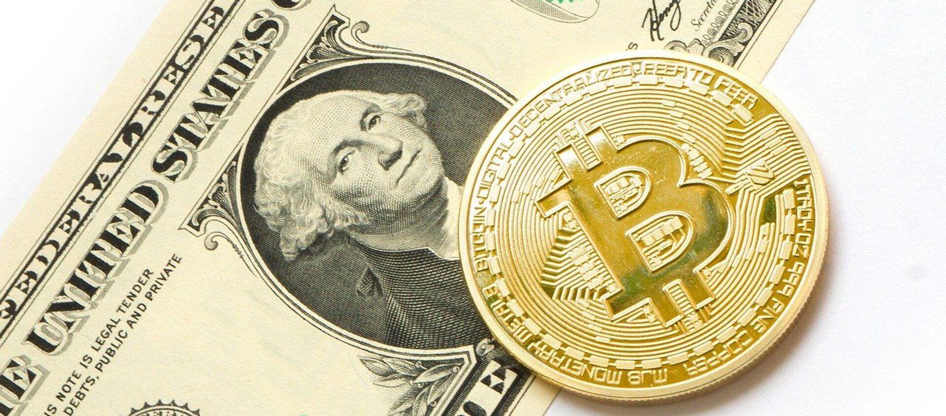 Le bitcoin (image d'illustration) - Sputnik France, 1920, 03.09.2021