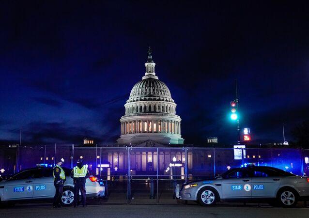 Le Capitole américain, le 7 janvier 2021