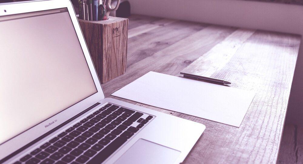 Un ordinateur portable (image d'illustration)