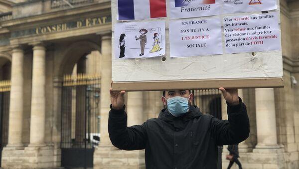 Manifestation. Regroupement familial. - Sputnik France
