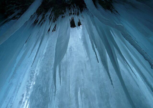 Des stalactites