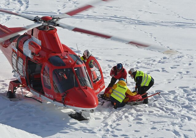 Violente chute du skieur alpin américain Tommy Ford à Adelboden
