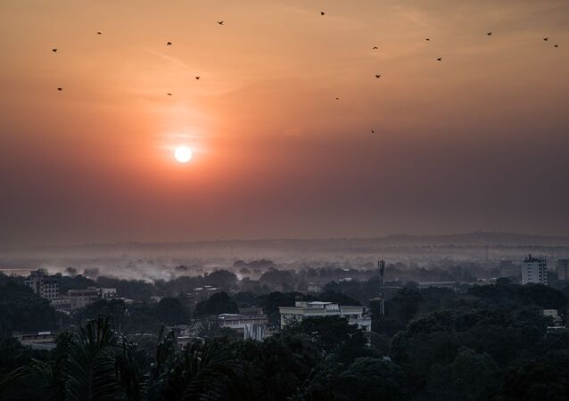 Bangui, capitale centrafricaine, le 25 décembre 2020