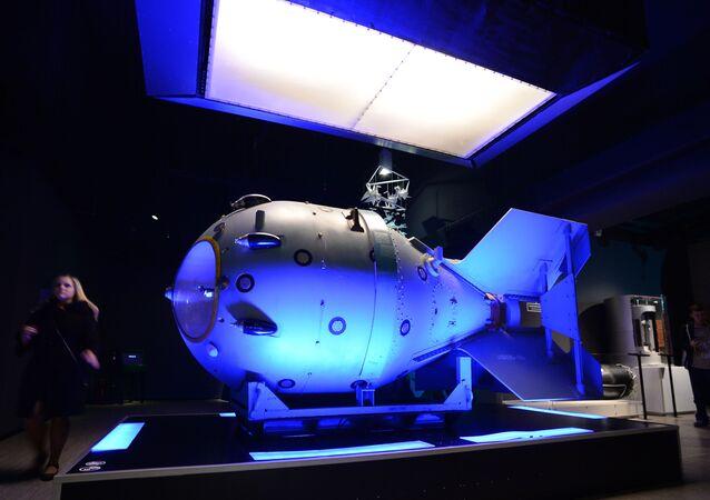 la première bombe nucléaire soviétique