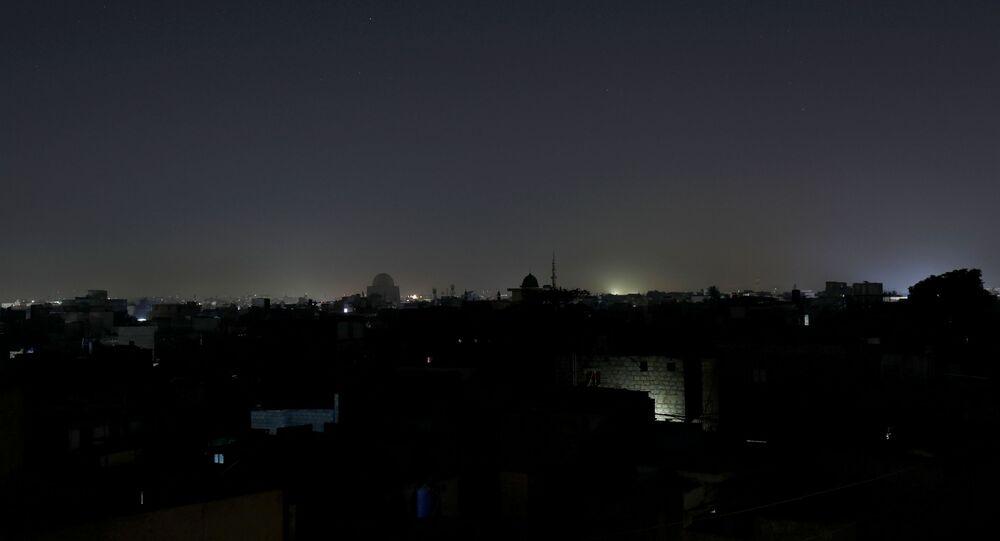 La ville pakistanaise de Karachi, le 10 janvier 2021