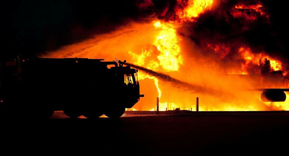 Un camion de pompiers (image d'illustration)