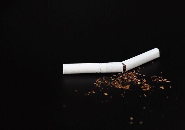 Une cigarette (image d'illustration)