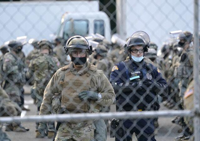 Soldats de la Garde nationale à Washington (archive photo)