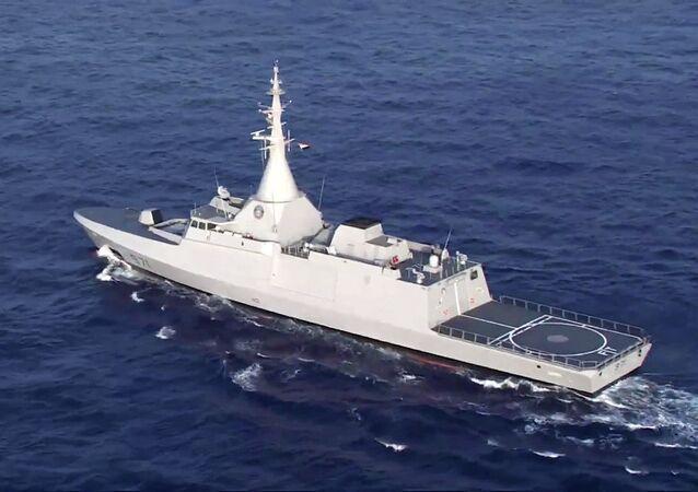 La corvette Gowind 2.500 El Fateh de la marine égyptienne