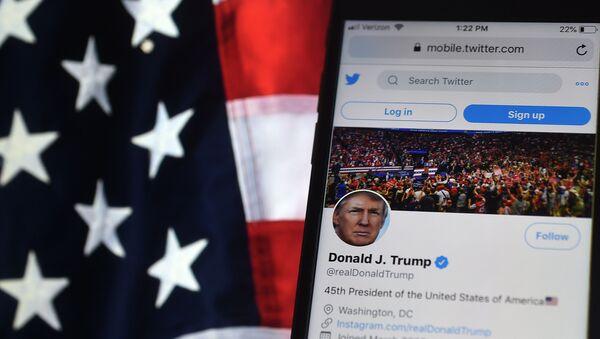 Donald Trump Twitter - Sputnik France