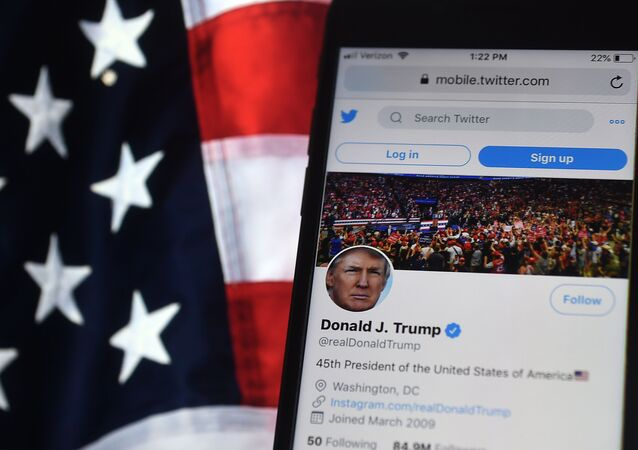 Le compte Twitter de Donald Trump (illustration)