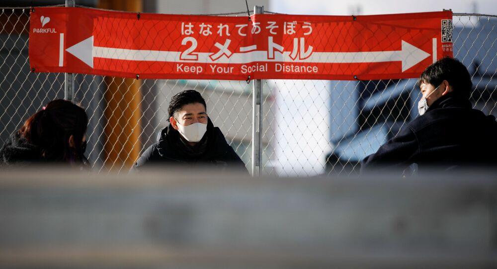 Épidémie de Covid-19 au Japon (archive photo)
