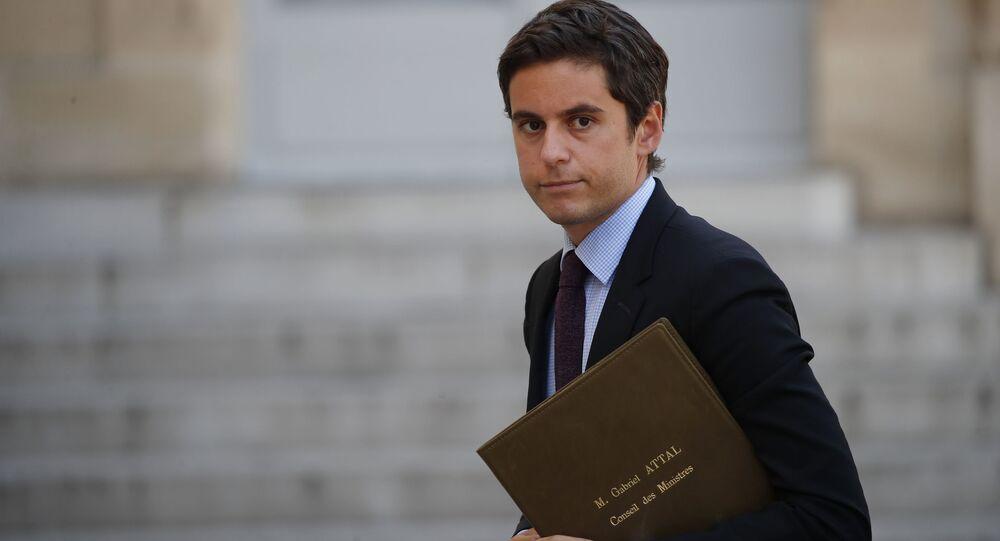 Gabriel Attal, porte-parole du gouvernement