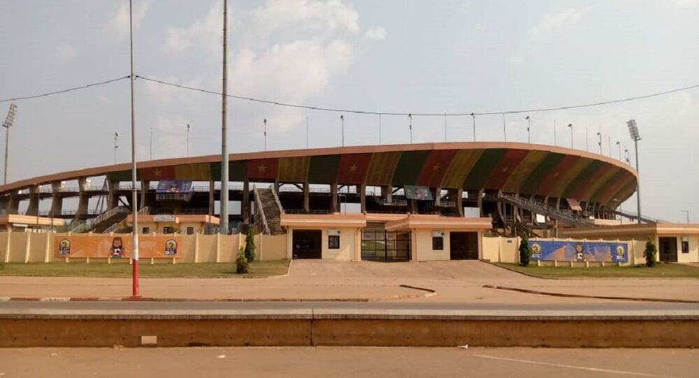 Le stade omnisports Ahmadou Ahidjo à Yaoundé