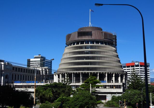 Siège du parlement néozélandais à Wellington
