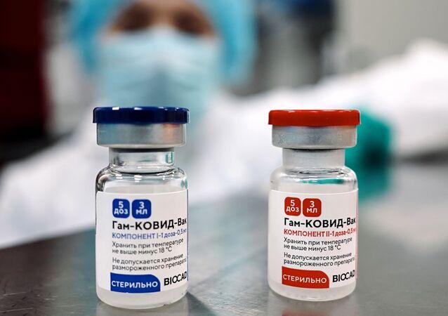 Vaccin Spoutnik V fabriqué à Saint-Pétersbourg