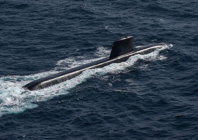 Le sous-marin nucléaire d'attaque français Suffren