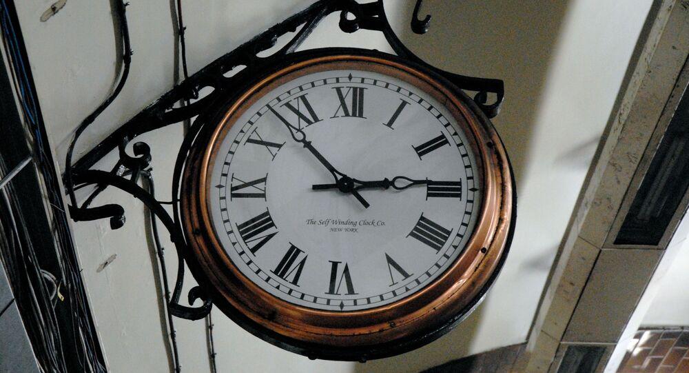 Une horloge (image d'illustration)