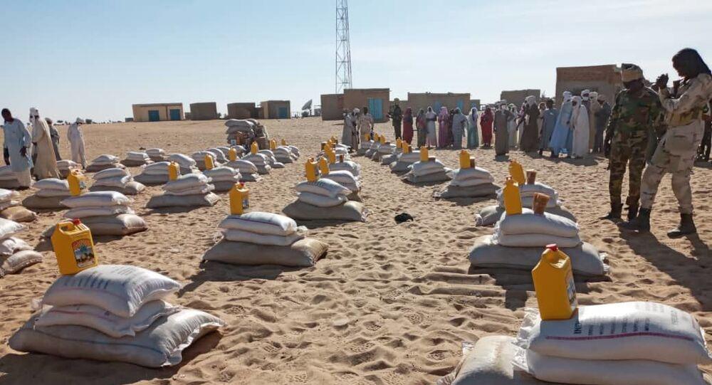 Distribution des kits durant le confinement au Tchad