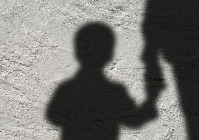 Silhouette d'un enfant
