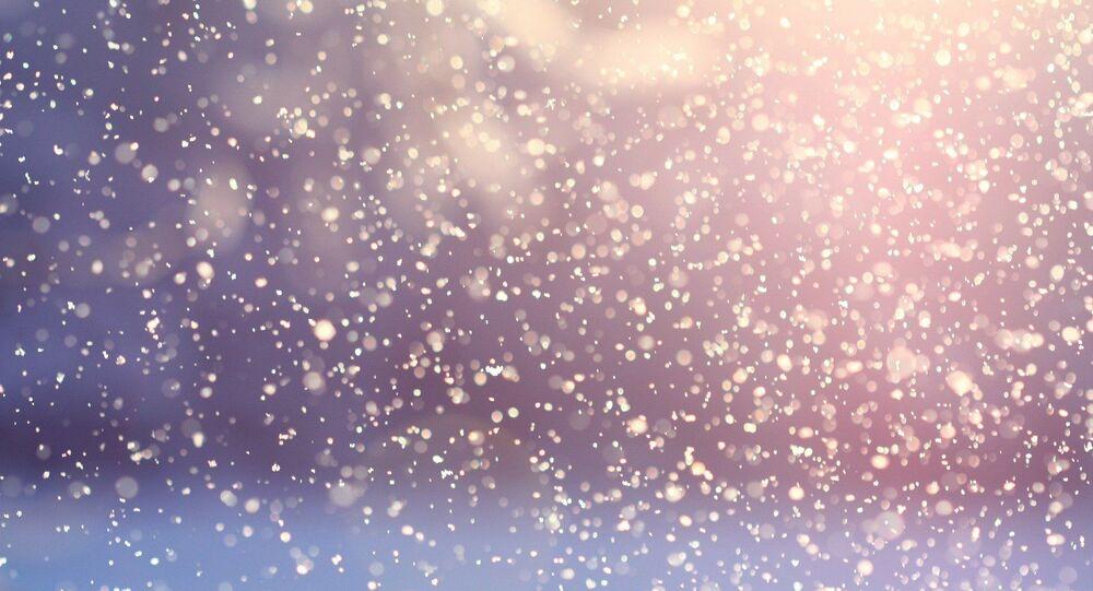 Chutes de neige (image d'illustration)