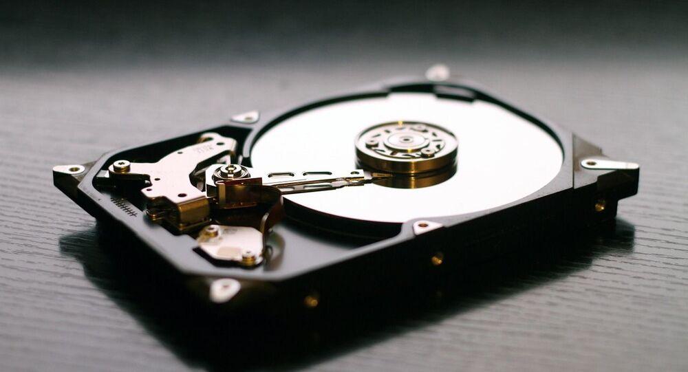 disque dur, image d'illustration