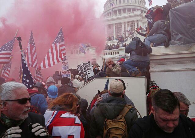 Assaut du Capitole, le 6 janvier 2021