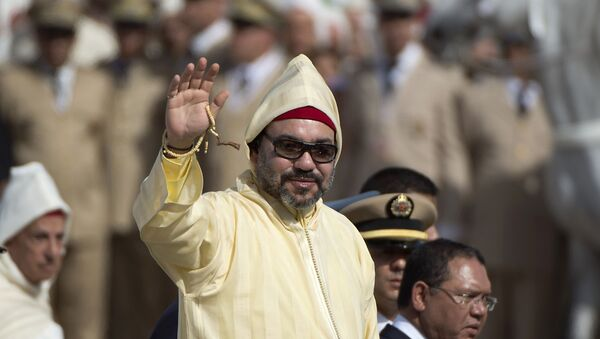 roi marocain Mohammed VI - Sputnik France