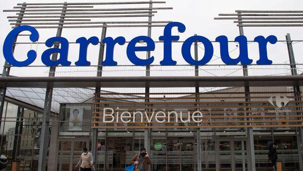 Un supermarché de Carrefour à Saint-Herblain, le 12 janvier - Sputnik France
