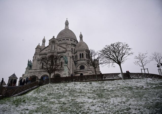 Montmartre enneigé le 16 janvier