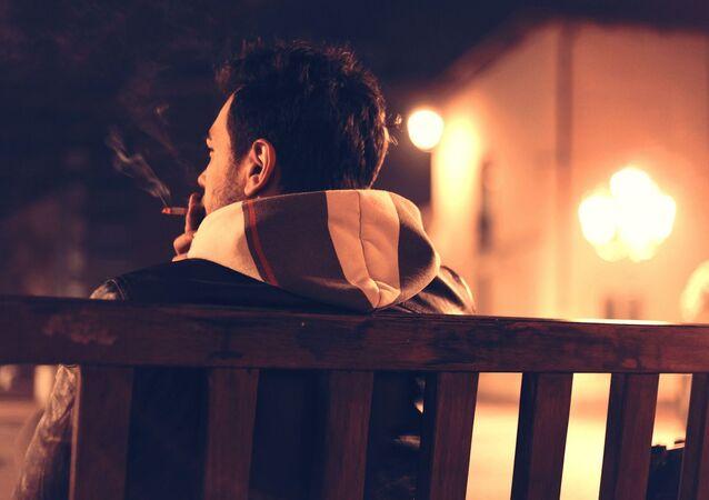 Un fumeur