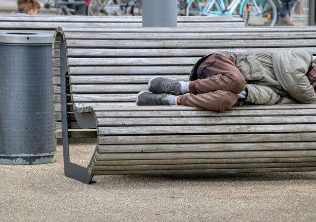 Un sans-abri (image d'illustration)