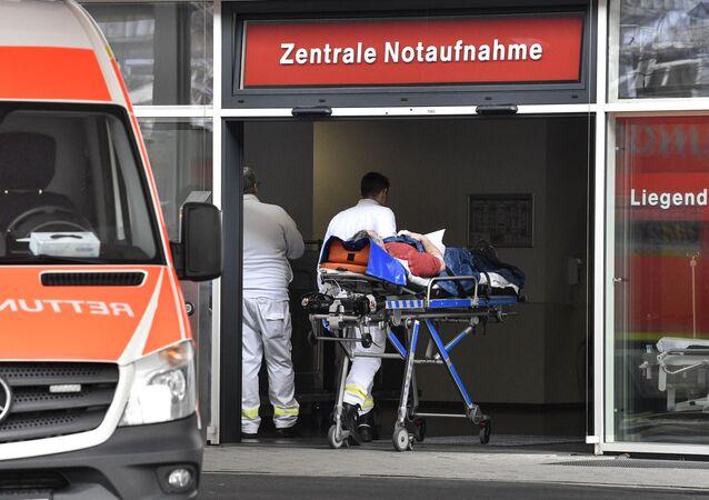Un hôpital allemand