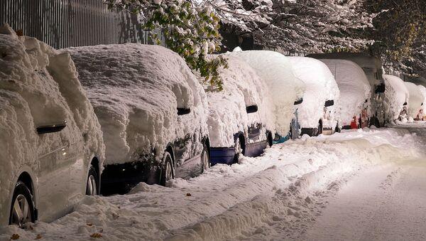 Des voitures en hiver - Sputnik France