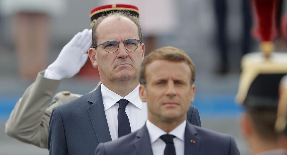 Jean Castex et Emmanuel Macron