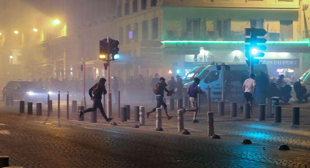 Troubles à Marseille lors du Championnat d'Europe de football 2016