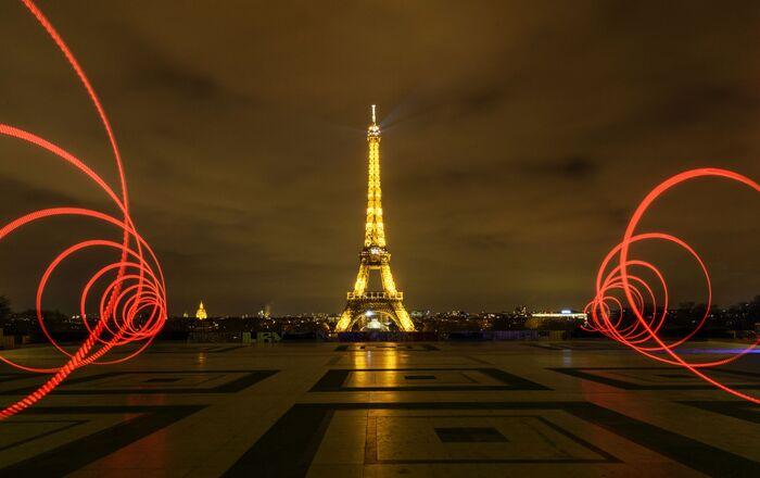 Paris vidée à cause des mesures restrictives