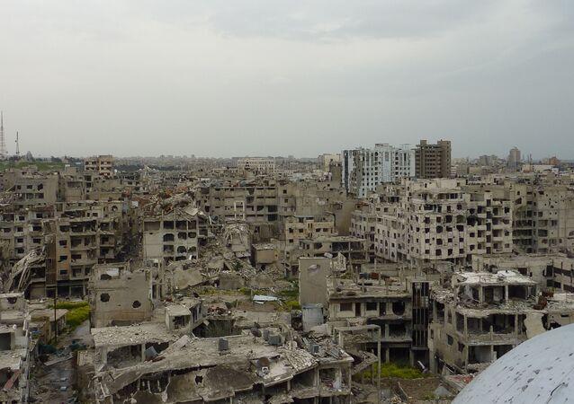 La ville syrienne de Homs (archive photo)