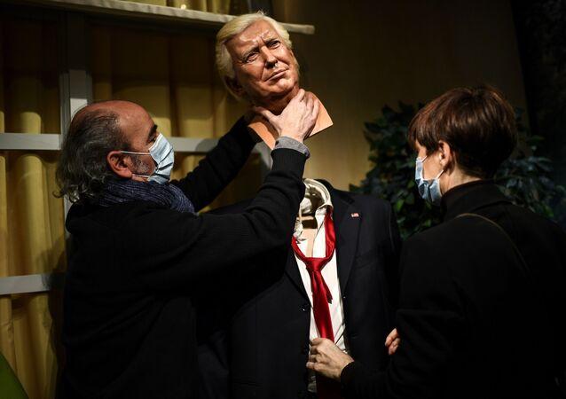 Statue de Donald Trump