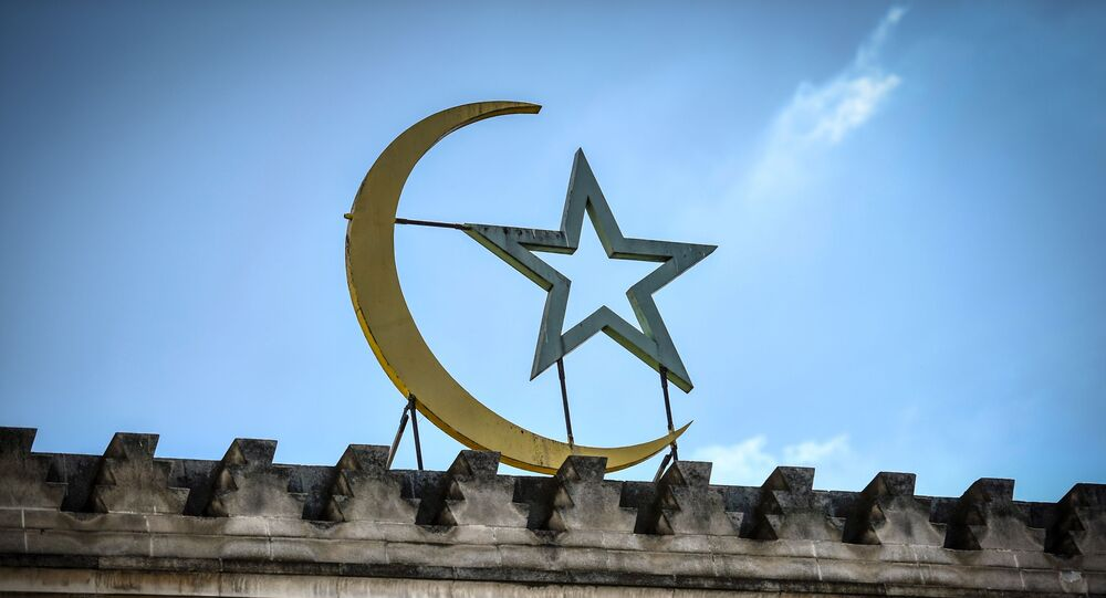 Façade de la Grande Mosquée de Paris