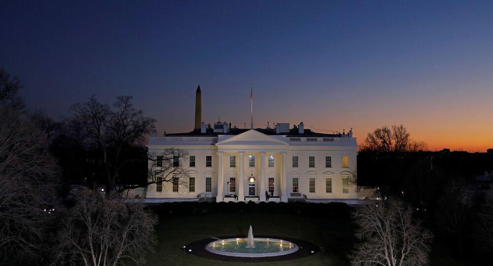 La Maison-Blanche le 19 janvier, à la veille de la passation du pouvoir au Président élu Joe Biden