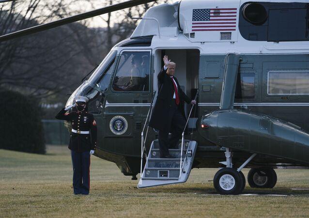 L'adieu de Donald Trump