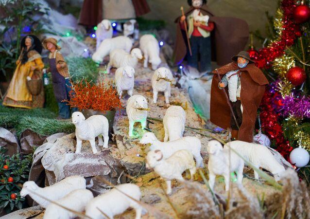Exposition «culturelle et festive» de Noël à la Mairie de Beaucaire, 2020