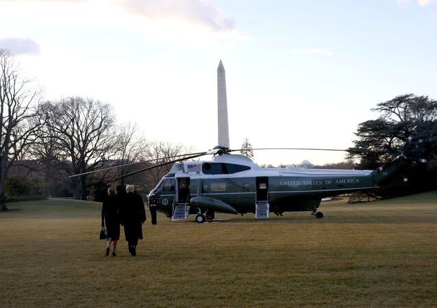 Donald et Melania Trump quittent la Maison-Blanche