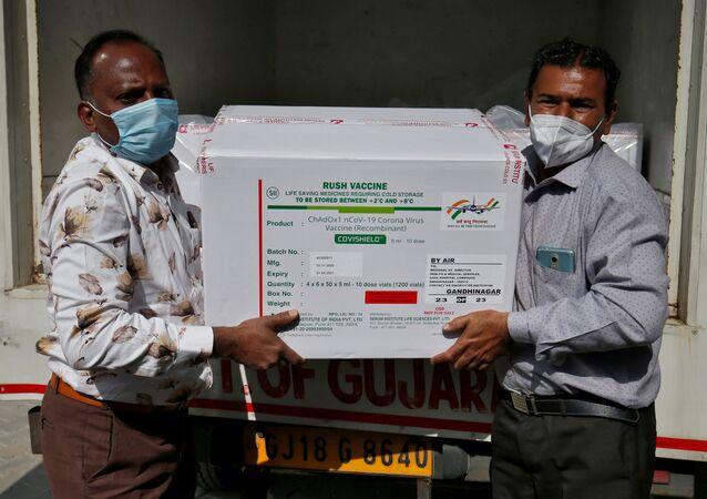 Production du vaccin par le Serum Institute of India