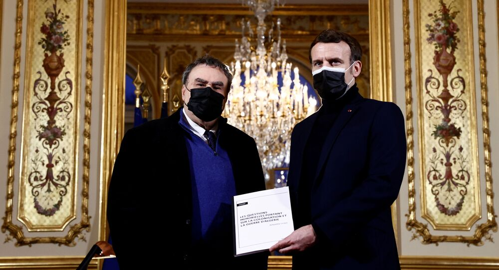 Emmanuel Macron et Benjamin Stora
