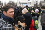 Action de soutien à Navalny à Moscou