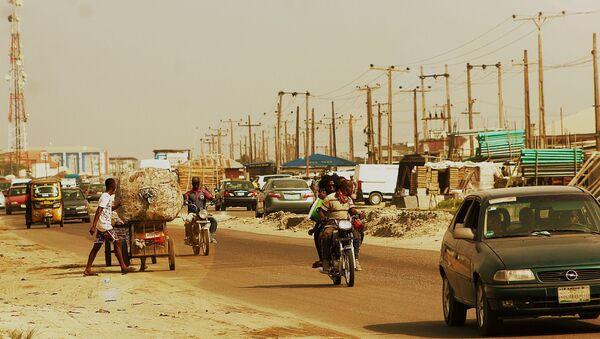 Une ville nigériane / image d'illustration - Sputnik France