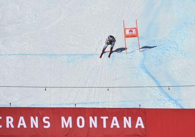 La skieuse tchèque Ester Ledecka